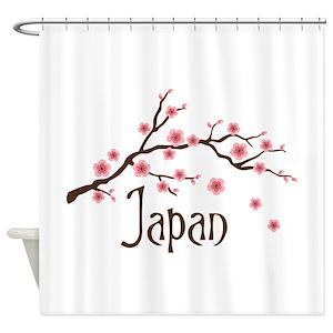 Japan Shower Curtains