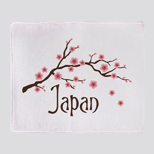 Japan Throw Blanket