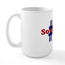 #1 SouthPaw Large Mug