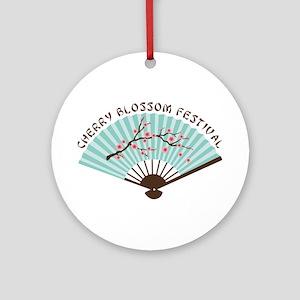 CHERRY BLOSSOM FESTIVAL Ornament (Round)