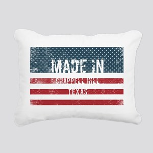 Made in Chappell Hill, T Rectangular Canvas Pillow