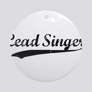 Blood and Glory Lead Singer Ornament (Round)
