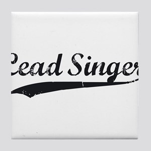 Blood and Glory Lead Singer Tile Coaster