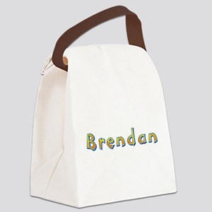 Brendan Giraffe Canvas Lunch Bag