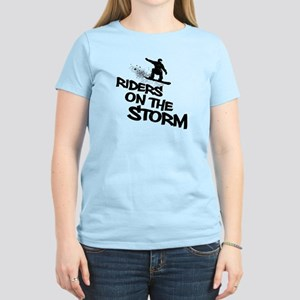 Snowboard Rider Women's Light T-Shirt