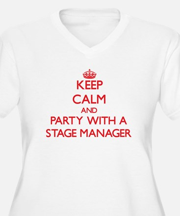 Keep Calm and Party With a Stage Manager Plus Size