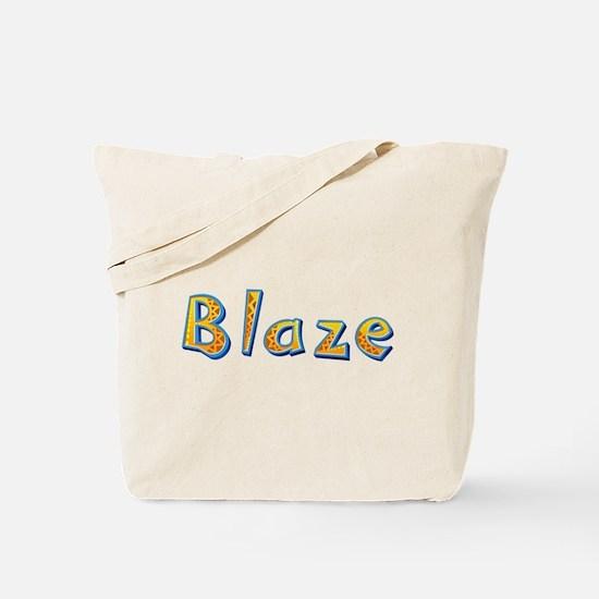 Blaze Giraffe Tote Bag
