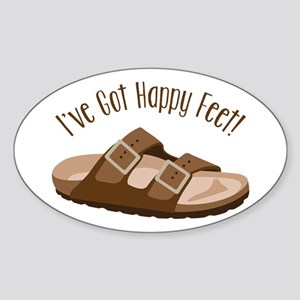 Ive Got Happy Feet! Sticker