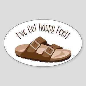 Ive Got Happy Feet! Sticker