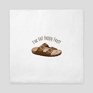 Ive Got Happy Feet! Queen Duvet