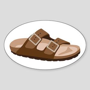 Hippie Birkenstock Sandal Sticker