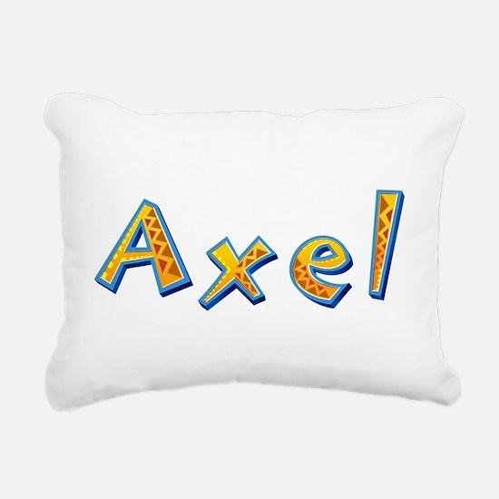 Axel Giraffe Rectangular Canvas Pillow