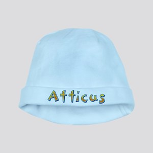 Atticus Giraffe baby hat