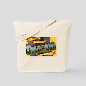 Colorado Greetings Tote Bag
