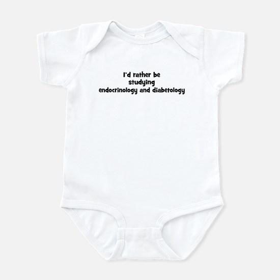 Study endocrinology and diabe Infant Bodysuit