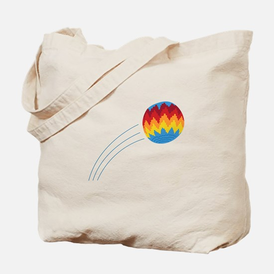 Hippie Hacky Sack Game Tote Bag
