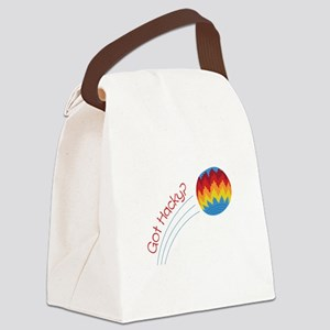 Got Hacky? Canvas Lunch Bag