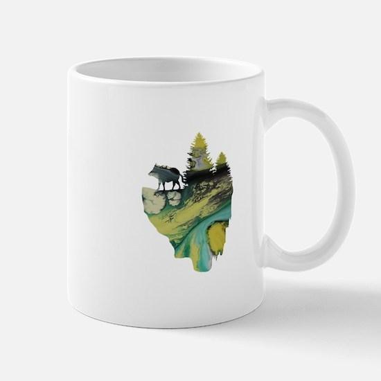 floating island Mugs