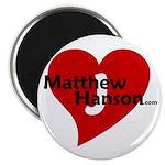 Matthew J. Hanson Heart Magnet