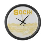 Sochi Large Wall Clock