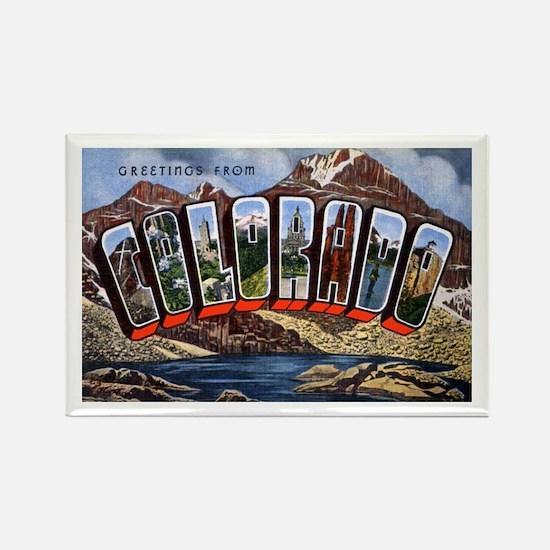 Colorado Greetings Rectangle Magnet