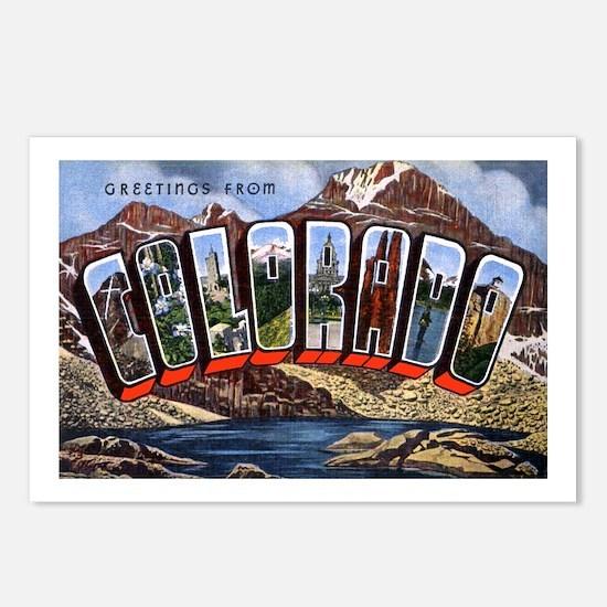 Colorado Greetings Postcards (Package of 8)