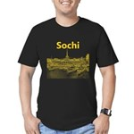 Sochi Men's Fitted T-Shirt (dark)
