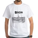 Sochi White T-Shirt