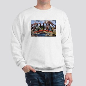 Colorado Greetings (Front) Sweatshirt