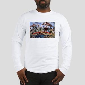 Colorado Greetings (Front) Long Sleeve T-Shirt
