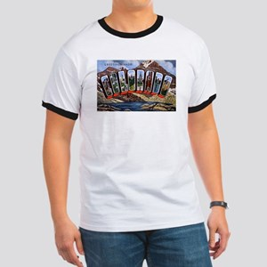 Colorado Greetings (Front) Ringer T
