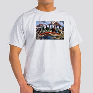 Colorado Greetings (Front) Light T-Shirt