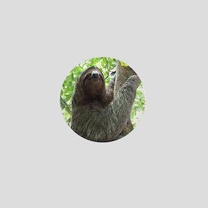 Sloth in a Tree Mini Button