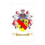 Flanders Sticker (Rectangle 10 pk)