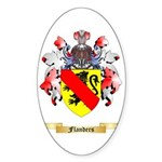 Flanders Sticker (Oval 10 pk)