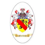 Flanders Sticker (Oval 50 pk)