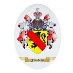 Flanders Ornament (Oval)
