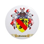 Flanders Ornament (Round)