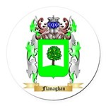 Flanaghan Round Car Magnet