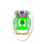 Flanaghan 20x12 Oval Wall Decal