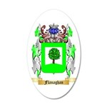 Flanaghan 35x21 Oval Wall Decal