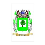 Flanagan Sticker (Rectangle 50 pk)