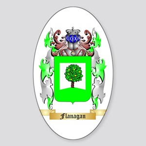 Flanagan Sticker (Oval)