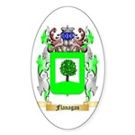 Flanagan Sticker (Oval 50 pk)