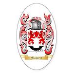 Flaherty Sticker (Oval 10 pk)