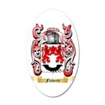Flaherty 20x12 Oval Wall Decal