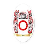 Fix Oval Car Magnet