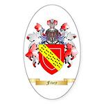 Fivey Sticker (Oval)