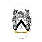Fitzwilliams Oval Car Magnet