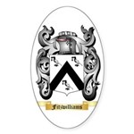 Fitzwilliams Sticker (Oval 10 pk)